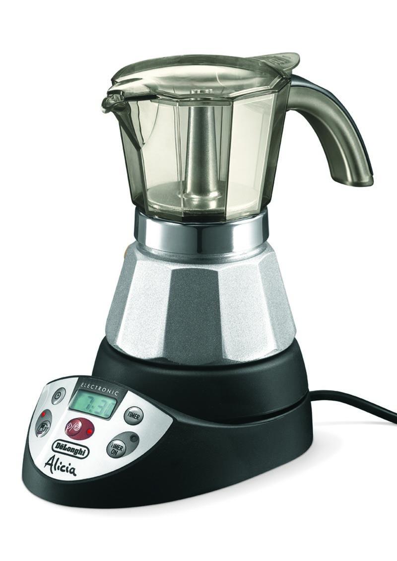 DELONGHI FUNNEL FILTER COFFEE POT SCOOP COFFEE MAKER ALICIA 4 CUPS EMK4 EMK42 eBay
