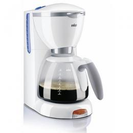 Braun Coffee Maker Spares : Braun Coffee Maker Parts : Braun Kfk 500 Jar Cpl. 10 Cups Grey White (0X63104705)